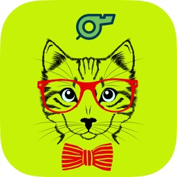cat whistle - cat sounds & cat clicker training