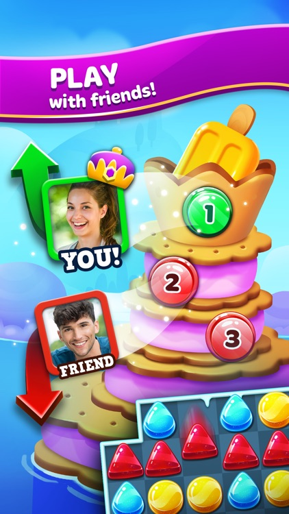 Frozen Frenzy Mania: Challenging Match 3 Games screenshot-3