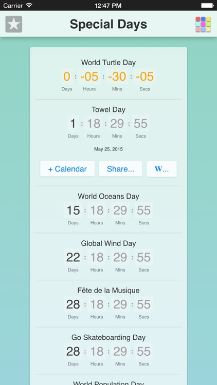 Special Days App screenshot-1