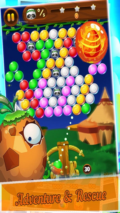 Candy Bubble Bear - Rescue Baby screenshot two