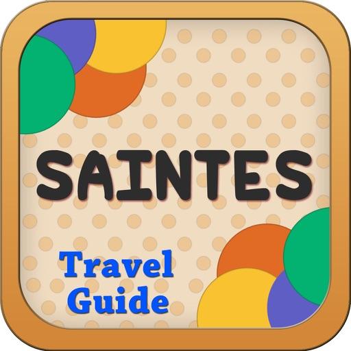 Saintes Offline Map City Guide