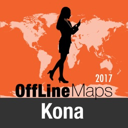 Kona Offline Map and Travel Trip Guide