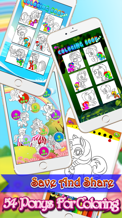 Pony Colouring Pages Princess Activities For Kids