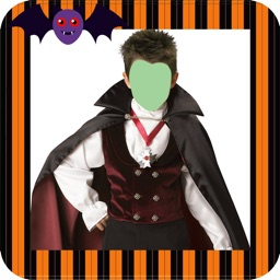 Halloween Costumes Photo Montage for Kids
