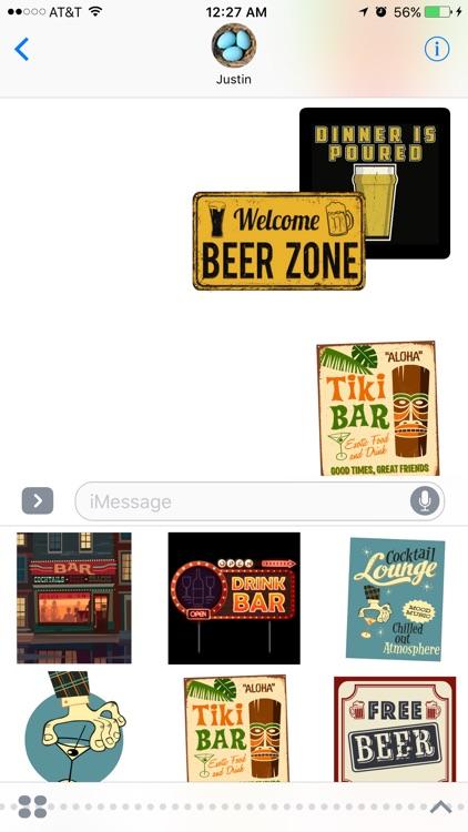 Bar Stickers screenshot-3