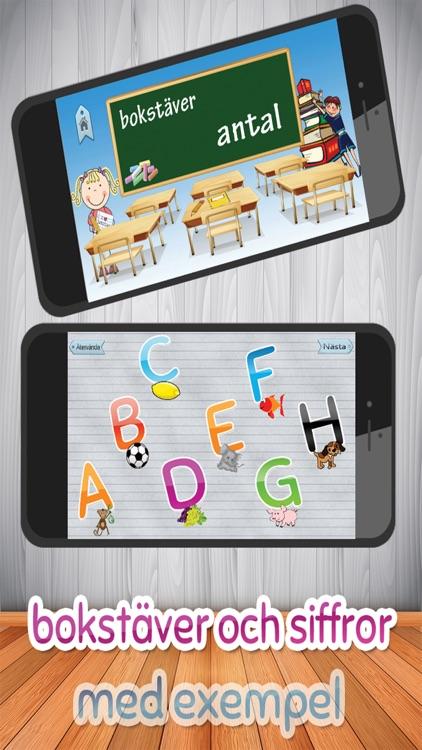 Barn lärande spel - Svenska Alfabetet