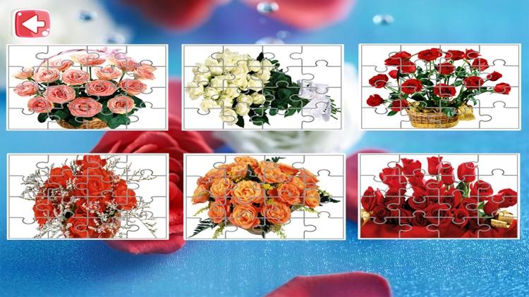 Flower Jigsaw Puzzle Free screenshot-3