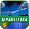 オフラインて モーリシャス マッフ - World Offline Maps