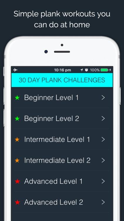 30 Day - Plank Challenge screenshot-0