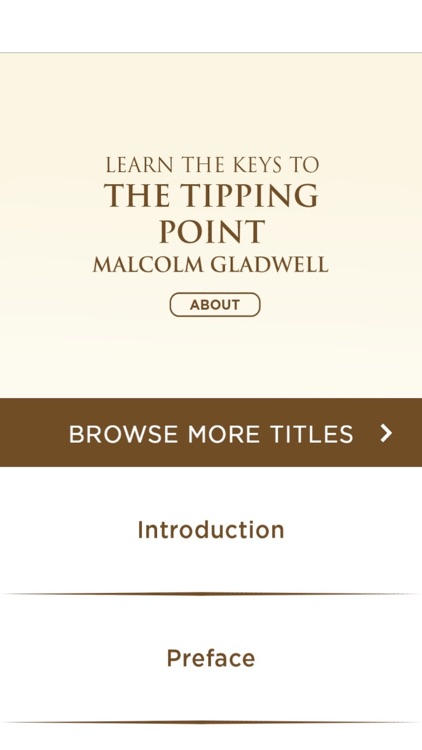 The Tipping Point by Malcolm Gladwell Meditations