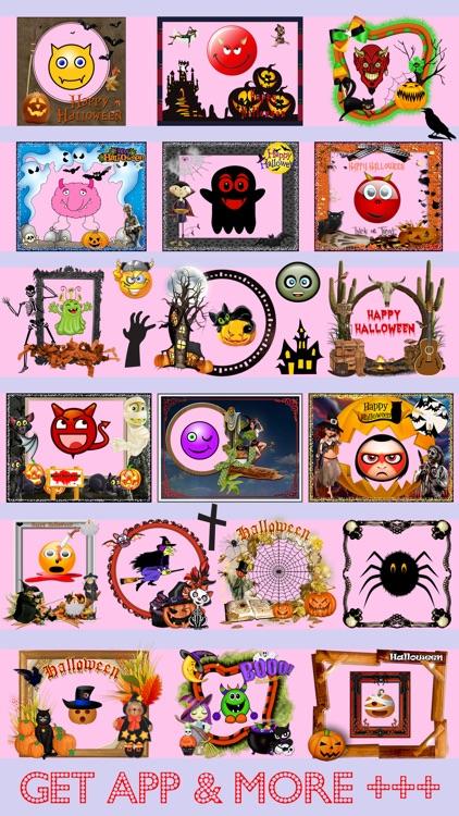 Halloween Photo Frames Editor & Sticker Booth Free screenshot-4