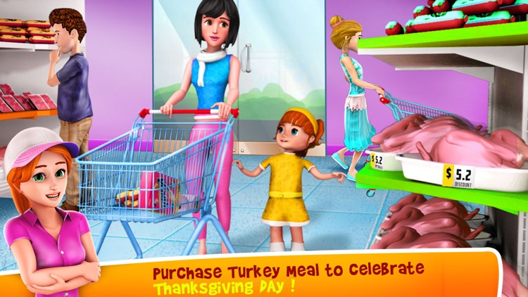 Thanksgiving Supermarket Store - Time Managament screenshot-3