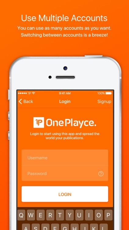 OnePlayce screenshot-4