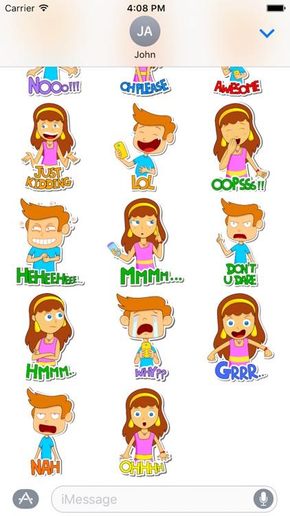 Emotion Kid Sticker