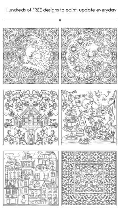 momi coloring - Secret Garden screenshot-3