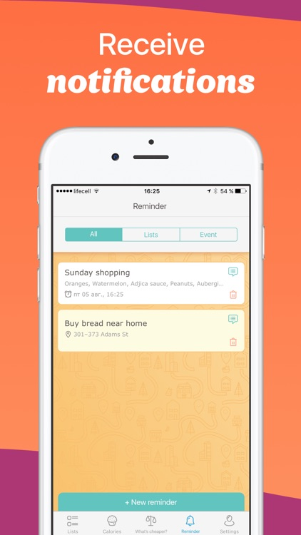 Avocadolist Pro Grocery Shopping List Lists Apps By Vitalii Antoshchuk