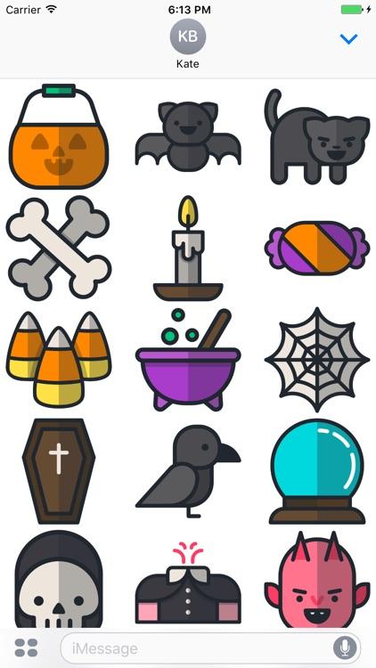 Emoji Stickers for Halloween