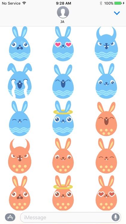 Rabbit Animation Sticker