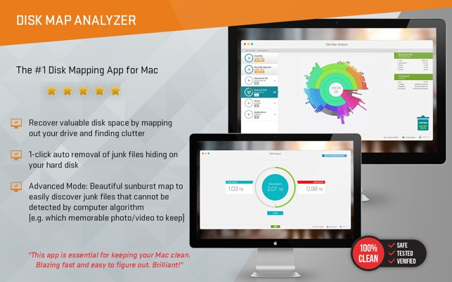 Disk Map Analyzer - 2 in 1 - Clean Your Hard Drive Screenshot