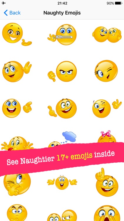 Flirty Emoji Pro with Stickers Pack for Texting screenshot-1
