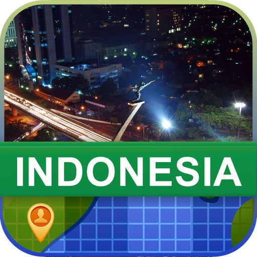 Offline Indonesia Map - World Offline Maps