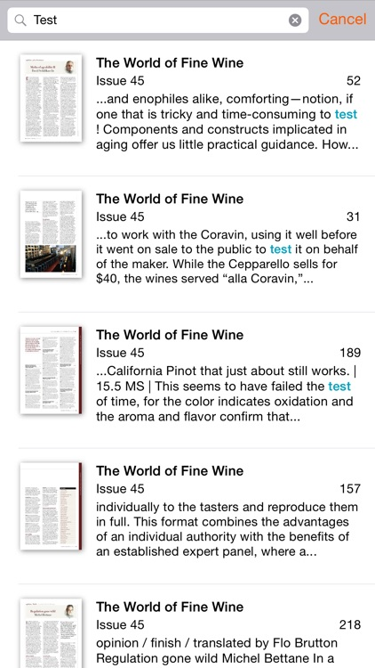 World of Fine Wine screenshot-3