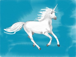 Beautiful hand drawn unicorns to bring some magic and rainbows in your conversations