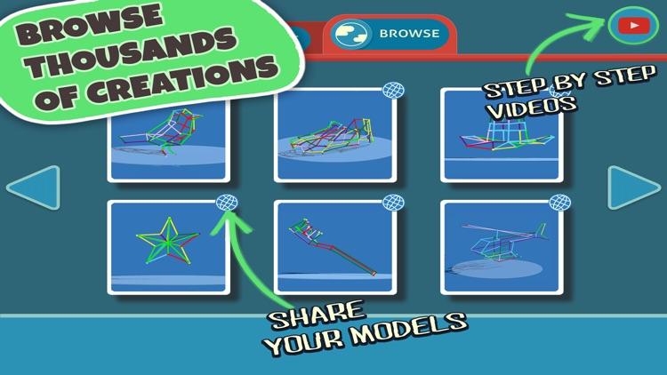 DRAW 3D JUNIOR :LEARN GEOMETRY & CREATE 3D MODELS screenshot-4