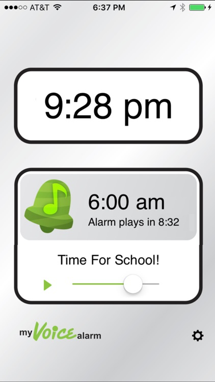 My Voice Alarm screenshot-0