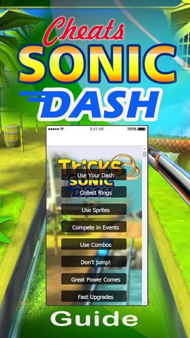 Tips Guide for Sonic Dash 2 Cheatsのおすすめ画像2