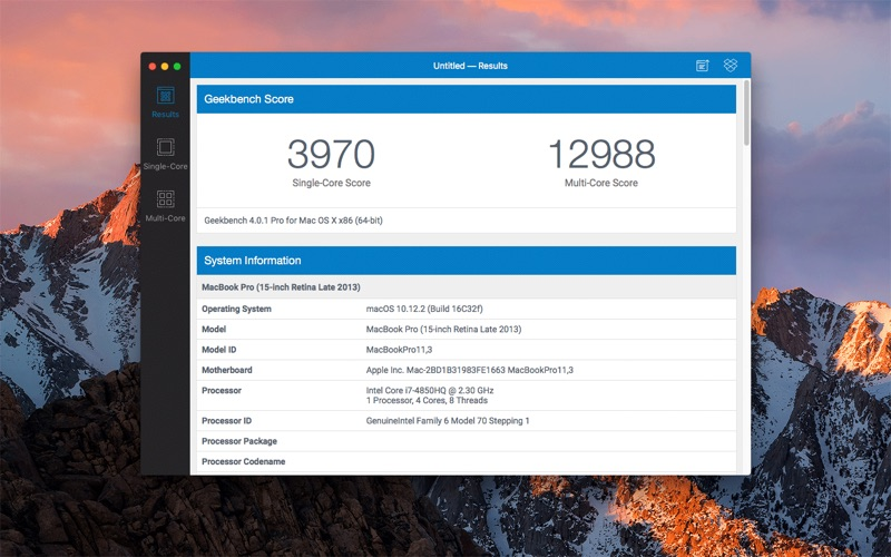 Geekbench 4 DMG Cracked for Mac Free Download