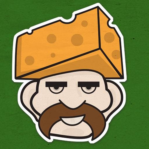 Cheddar Head Sticker Pack