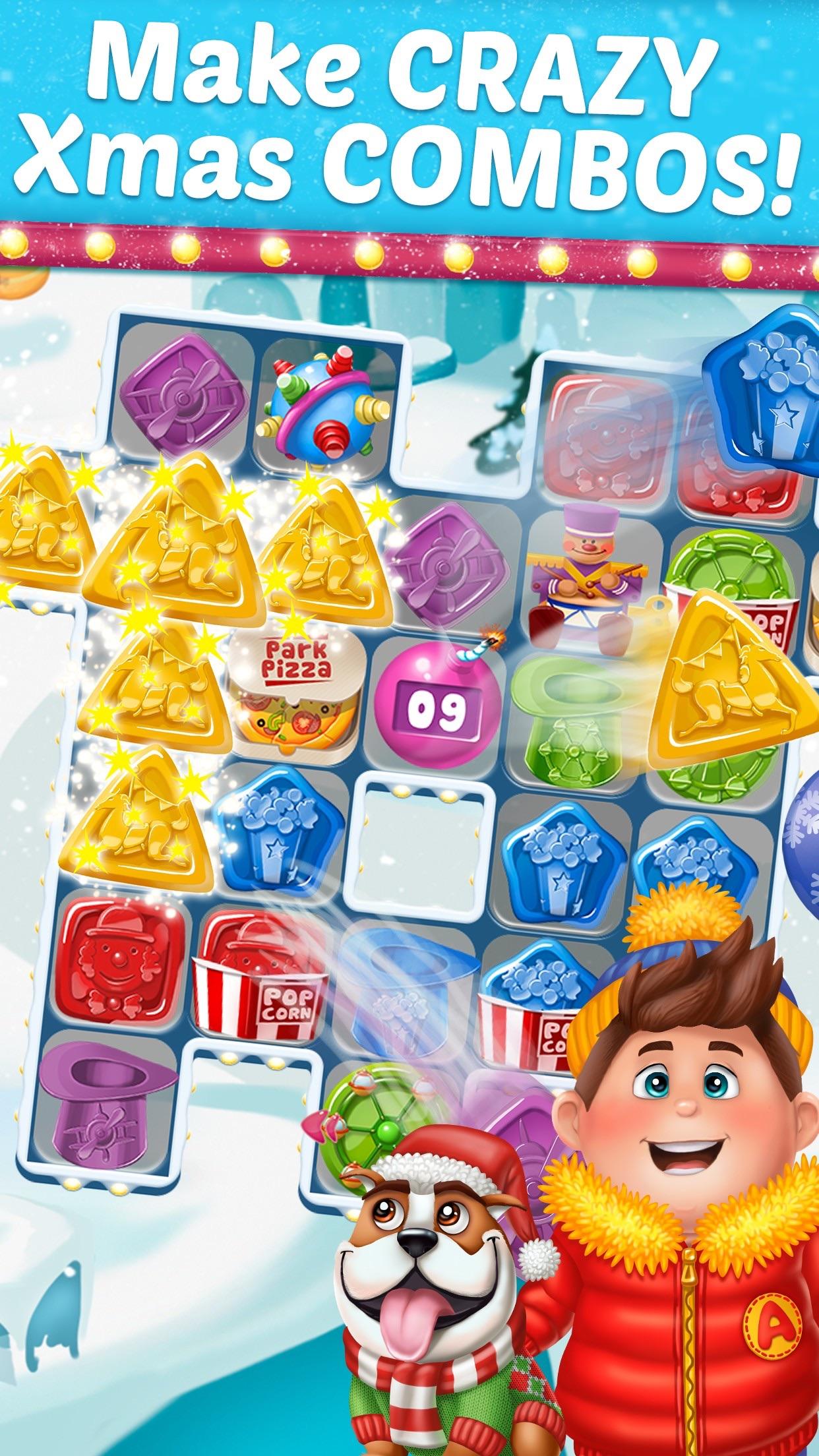 Amusement Park Tour 2: Fun Xmas Screenshot