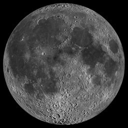 Moon Phase Photo Maps