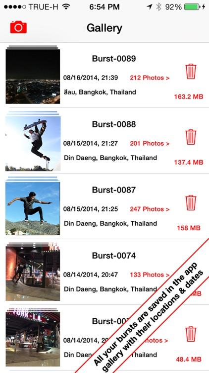 Burst HD - Super Burst Camera screenshot-4