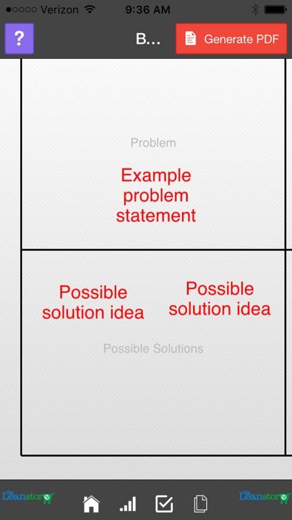 Lean Brainstorming