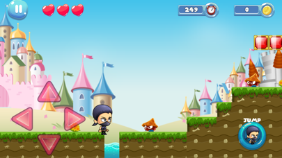 ninja jungle adventure imagination game screenshot one