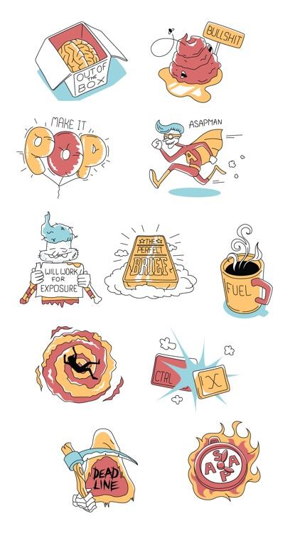 I am a designer - stickers