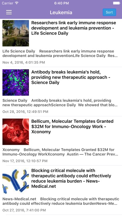 Cancer Research News & Prevention Info Pro screenshot-3