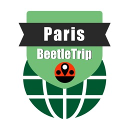 Paris travel guide and offline city map Beetletrip