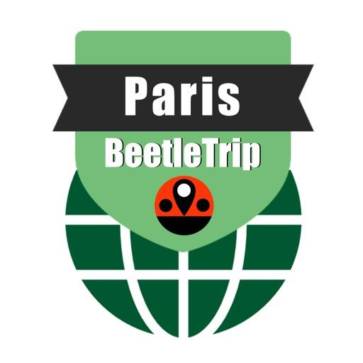 Paris travel guide and offline city map Beetletrip