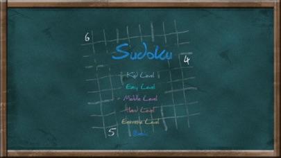Screenshot #2 pour Sudoku on Chalkboard