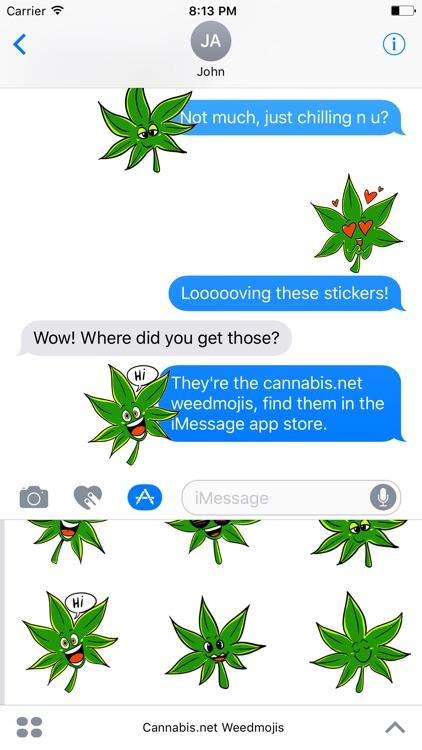 Cannabis.net Weedmojis