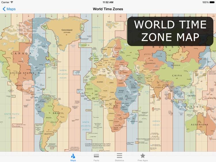 Atlas for iPad - World Maps, Facts & Statistics screenshot-4