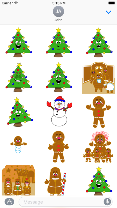 Winter Holidays Sticker Pack