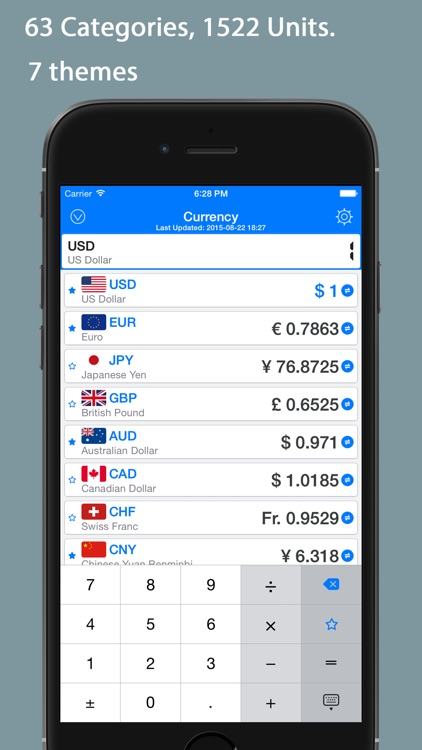 QVert Pro - Units & Currency Converter, Calculator