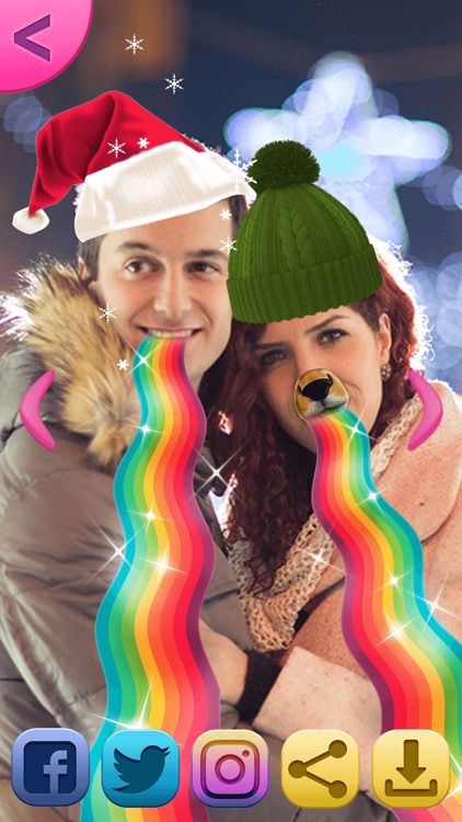 Christmas Photo Booth: Fun Xmas Sticker.s Editor