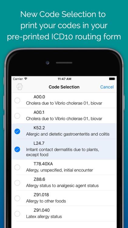 ICD-10 On the Go screenshot-0
