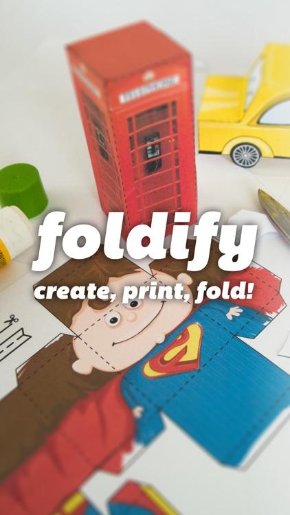 Foldify - Create, Print & Fold!
