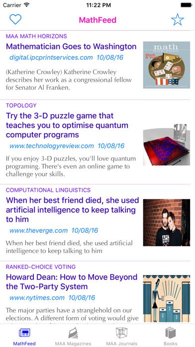 MathFeed screenshot one